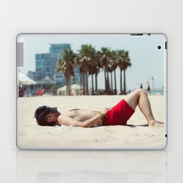 Relaxing on the Beach Laptop & iPad Skin