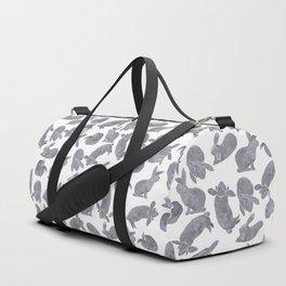 Bunny Poses Duffle Bag