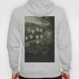 The Persian Cyclamen The Temple of Flora Hoody
