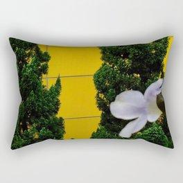 Talk of Iris and Pine Rectangular Pillow