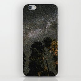 Milky Way Above Sequoia iPhone Skin