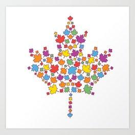 United Canada Art Print