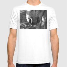 Fuzzy muzzle MEDIUM White Mens Fitted Tee