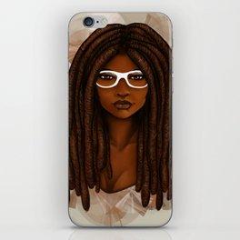 White Glasses iPhone Skin