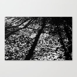 Static Forest Canvas Print