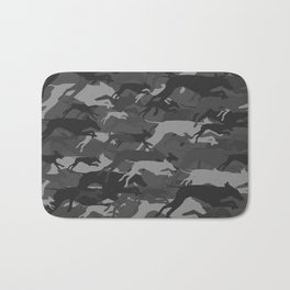 WEIMOUFLAGE GREY Bath Mat