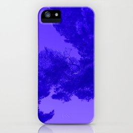 Blue Summer Pines iPhone Case