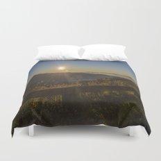 Sunrise on the Blue Ridge  Duvet Cover