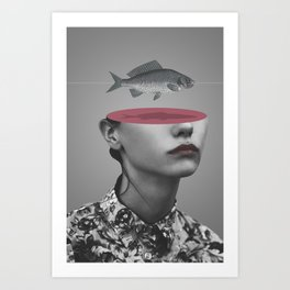 Fishing Line (2011) Art Print