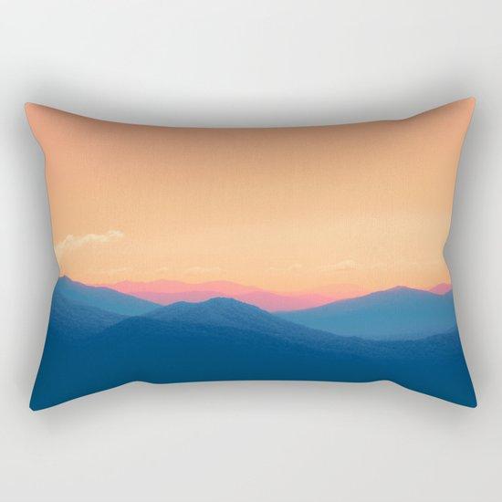 Mountains in Paradise Rectangular Pillow