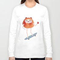 forever young Long Sleeve T-shirts featuring Forever young by Tania Orozco