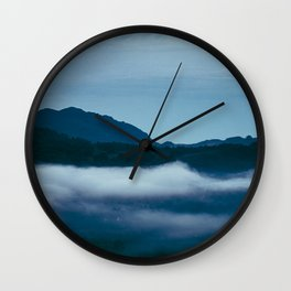 Snowdonia Cloud Inversion (Summer 2019) Wall Clock