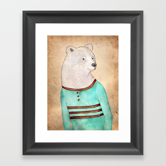 Señor Oso Framed Art Print