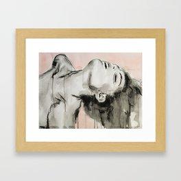 She appeared insincere and cruel Framed Art Print