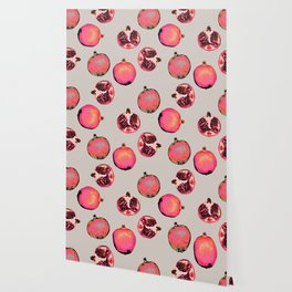 Pomegranate Pattern Wallpaper