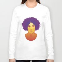 lana Long Sleeve T-shirts featuring Lana by Esther Cerga