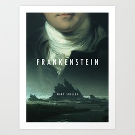 19th Century Women Writers - Frankenstein Art Print