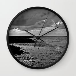 River to the open Danish Sea Wall Clock