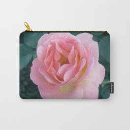 A Pink Balboa Rose Carry-All Pouch
