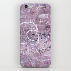 Paris Graffiti iPhone & iPod Skin