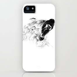 Angry Bear iPhone Case