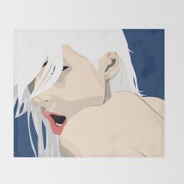 Moan Throw Blanket
