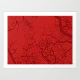 Trees 9 Art Print