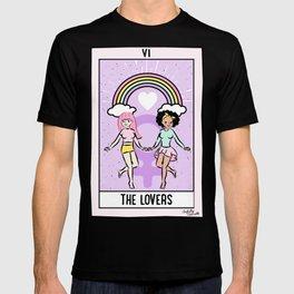 The Lovers - Tarot Card T-shirt