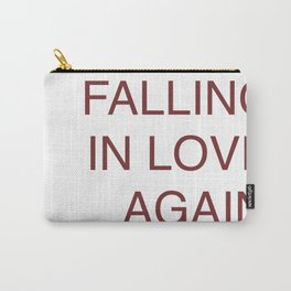 falling in love again (joyce manor) Carry-All Pouch