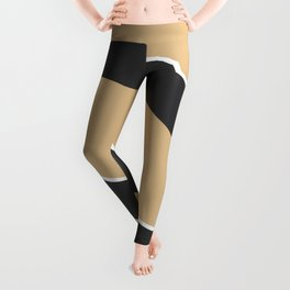 Squat nude abstract Leggings