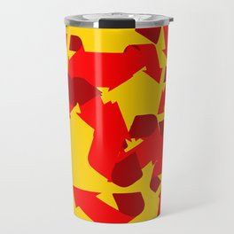 Recycle red star Symbol of new communism Travel Mug