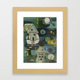Night Walks Framed Art Print