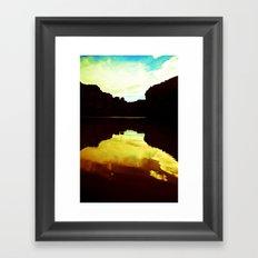 Colorado Canyons Framed Art Print