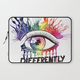 Rainbow Autism Awareness Laptop Sleeve