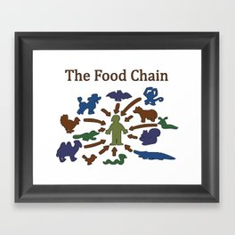 The Food Chain Framed Art Print