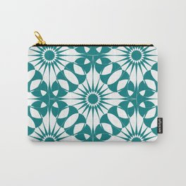 Spanish Tile - Blossom Carry-All Pouch