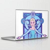 elsa Laptop & iPad Skins featuring Elsa by NicoleGrahamART