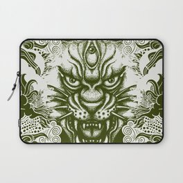 Flotal panther Laptop Sleeve