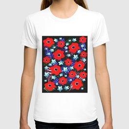 Poppies & Columbines T-shirt