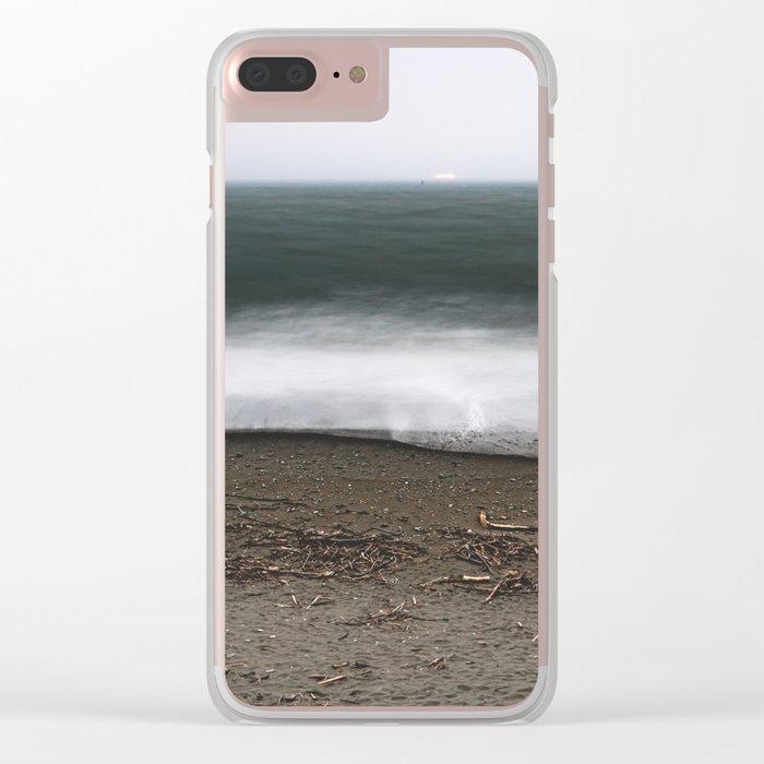 Ocean 10 Clear iPhone Case