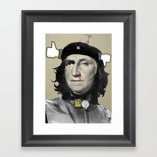 The DollaChe Framed Art Print