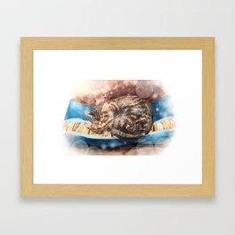 Habby Framed Art Print
