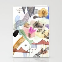 new year Stationery Cards featuring New Year by Brooke Weeber