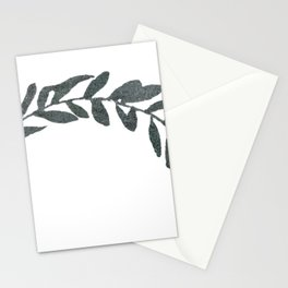 Botanical Olive Branch Stationery Cards