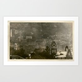 Woodburn Hall Aerial Art Print