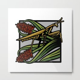 Flora & Fauna III Metal Print