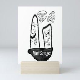 Minii Savages Volume#2 Mini Art Print