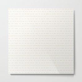 Coit Pattern 55 Metal Print