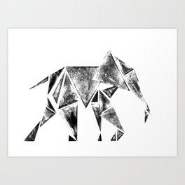 ElephantPower Art Print