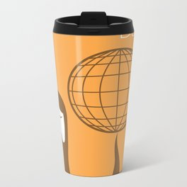 The Beards ~ World beard day poster Metal Travel Mug